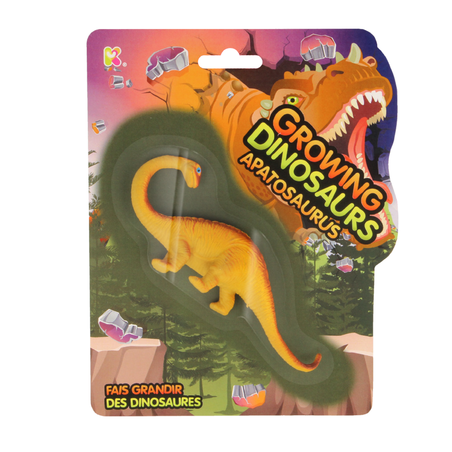 Growing Dinosaur Apatosaurus