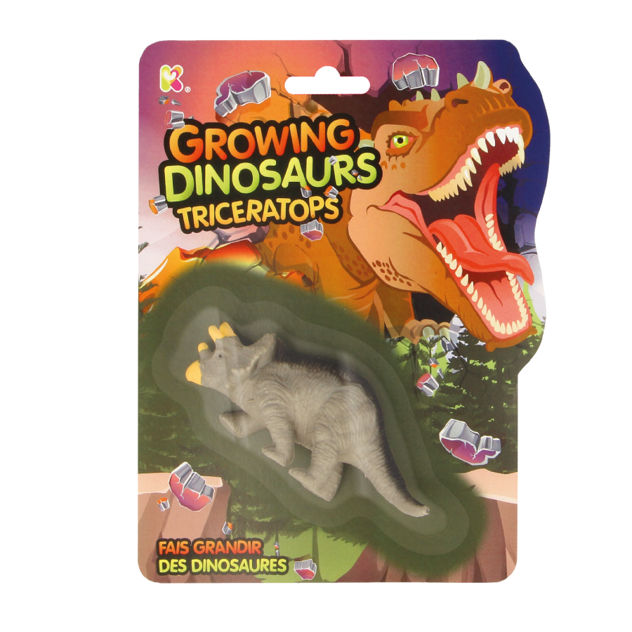 Growing Dinosaur Triceratops