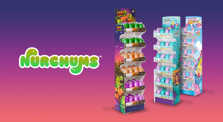 Nurchums™ | Hatching Egg Impulse Toys by Keycraft
