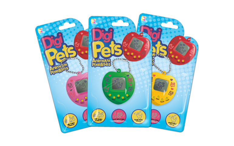 Digi Pets | Digital Pocket Toys by Keycraft Wholesalers