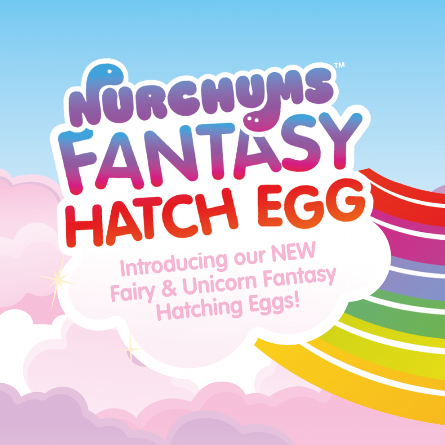 Nurchums Hatching Egg Toys