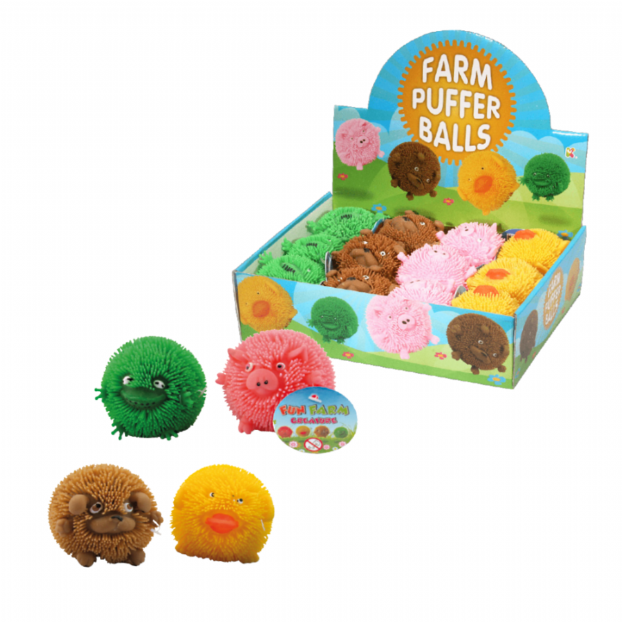 Farm Puffer Ball Animals