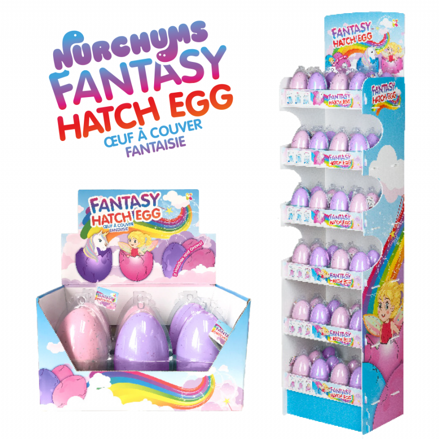 Fantasy Fairy & Unicorn  Hatching Eggs