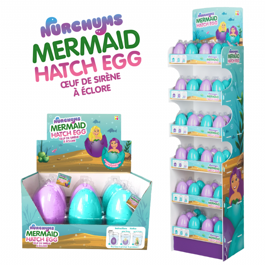 Mermaid Hatching Eggs