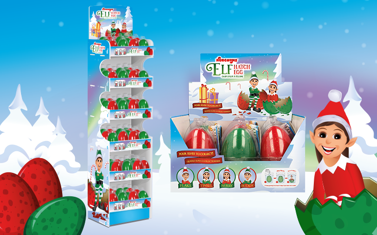 Elf Hatching Eggs | Pocket Money Stocking Fillers by Keycraft Wholesalers