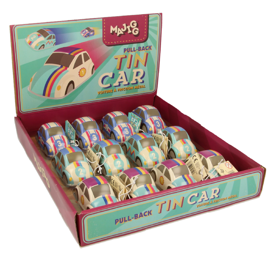 Majigg Tin Car