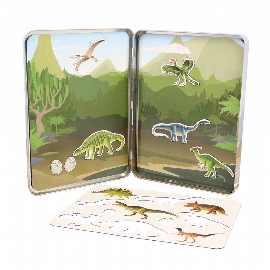 Dinosaur Activity Tin Set