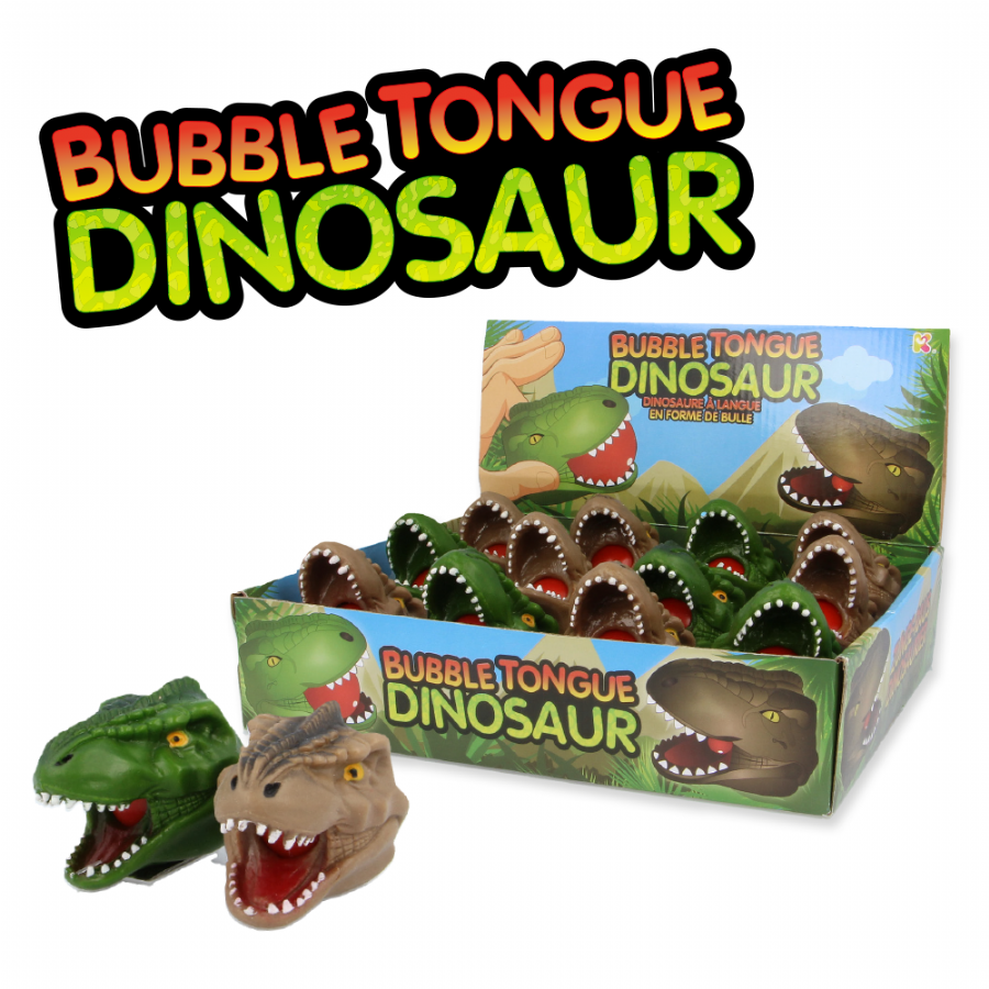 Bubble Tongue Dinosaur Novelty