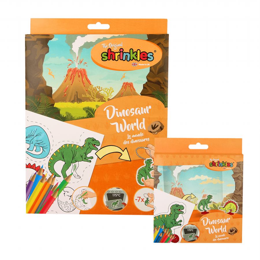 Shrinkles Dinosaur World: Craft Kits