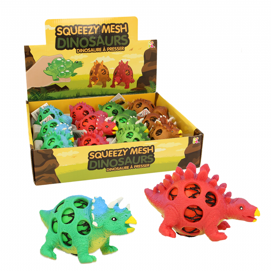 Squeezy Mesh Dinos