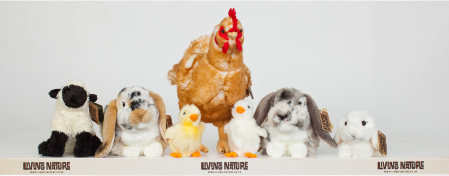 Living Nature Easter Soft Toy Animals