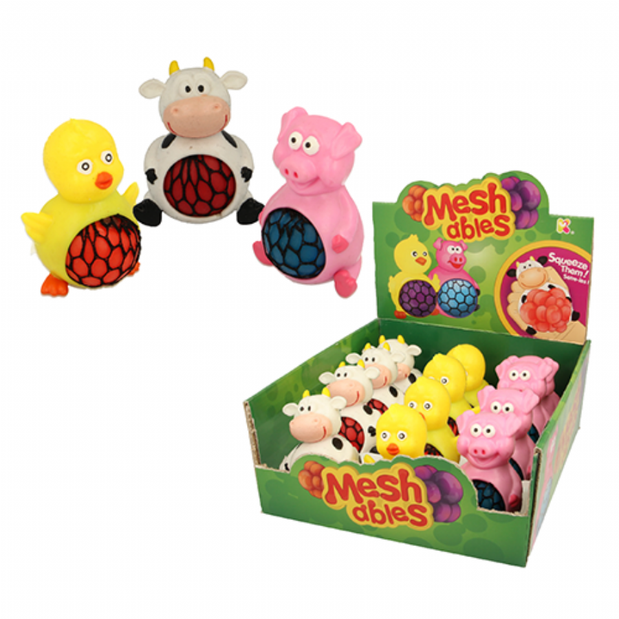 Farm Meshables Squishy Mesh Ball