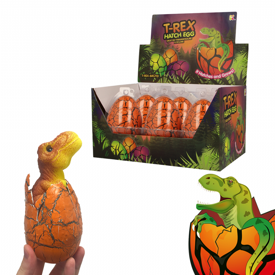 Nurchums T-Rex Dinosaur Hatching Eggs for Easter