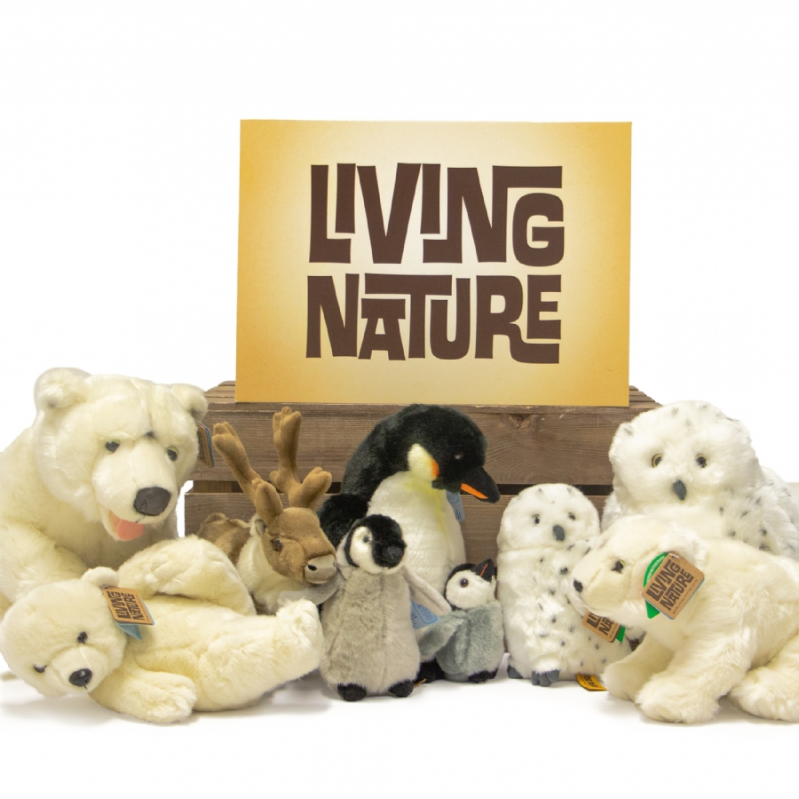 Living Nature Soft Toy Polar, Arctic and Winter Bundles