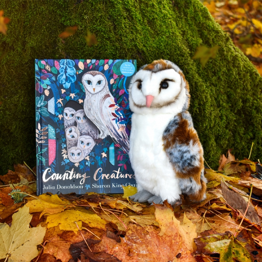 Living Nature - Counting Creatures - Owl Soft Toy