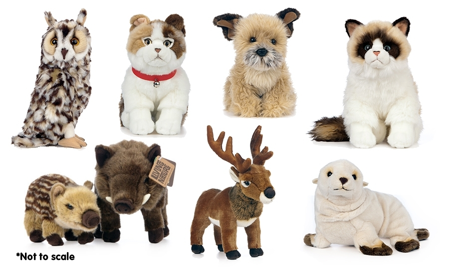 New Living Nature soft toy collection 2021