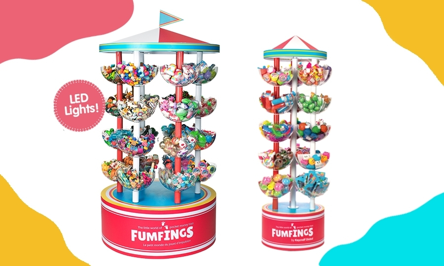 Carousel Display Stand for Toys