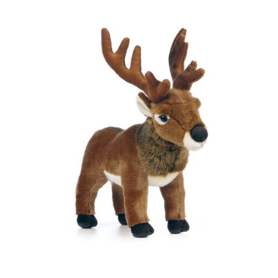 Red Deer Stag Soft Toy