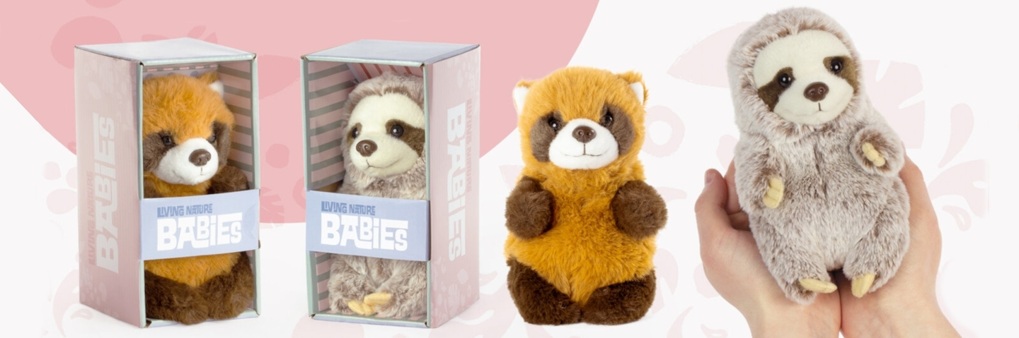 Living Nature Babies Soft Toys