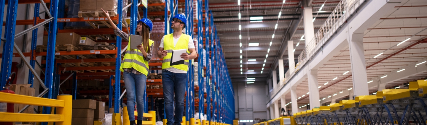 Improving our customer service with upgraded warehouse technology