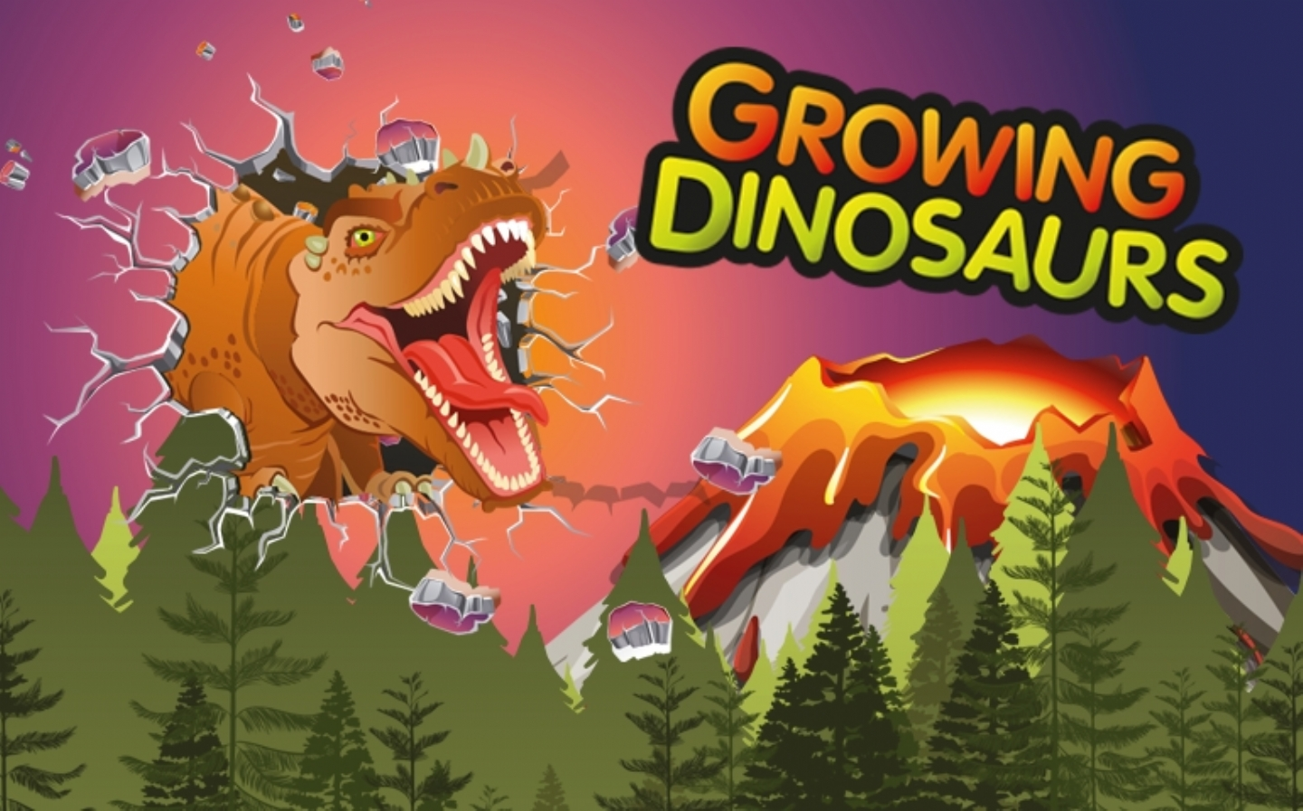 Fabulously ferocious growing dinosaurs by Keycraft