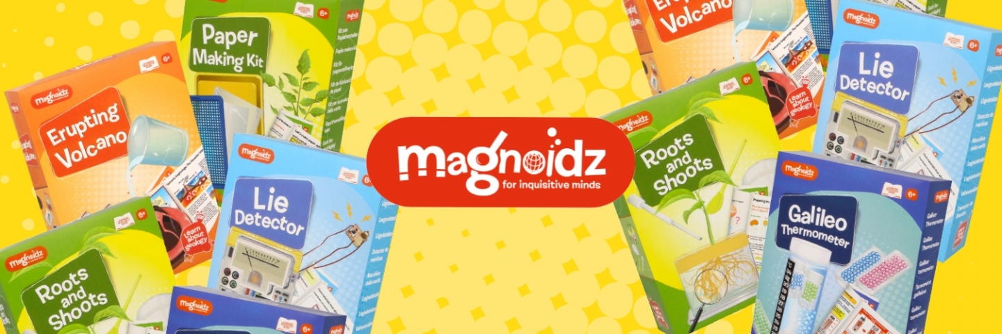 Keycraft enhance Magnoidz brand with 5 new science kits