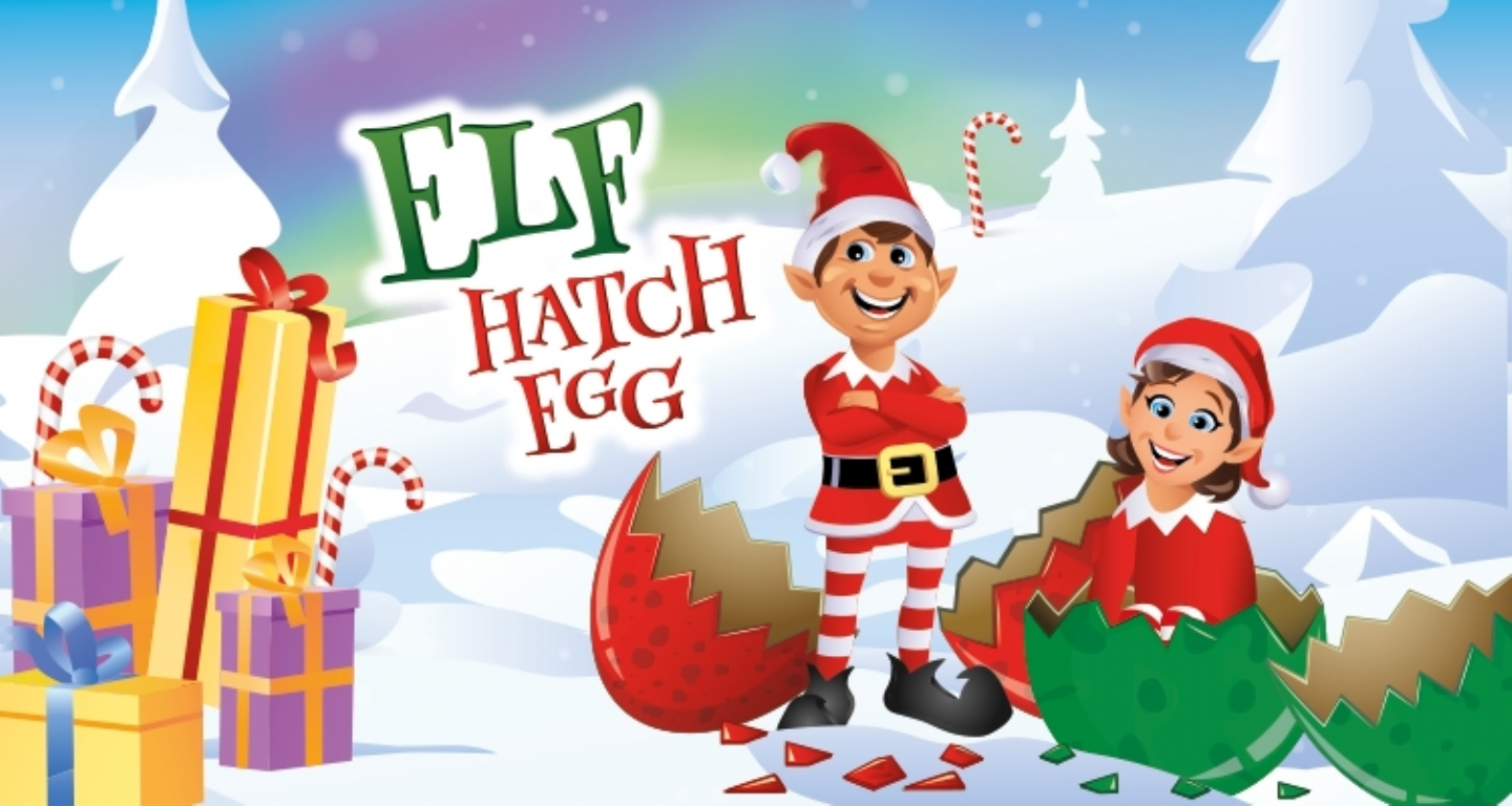 New for Christmas: Elf Hatching Eggs