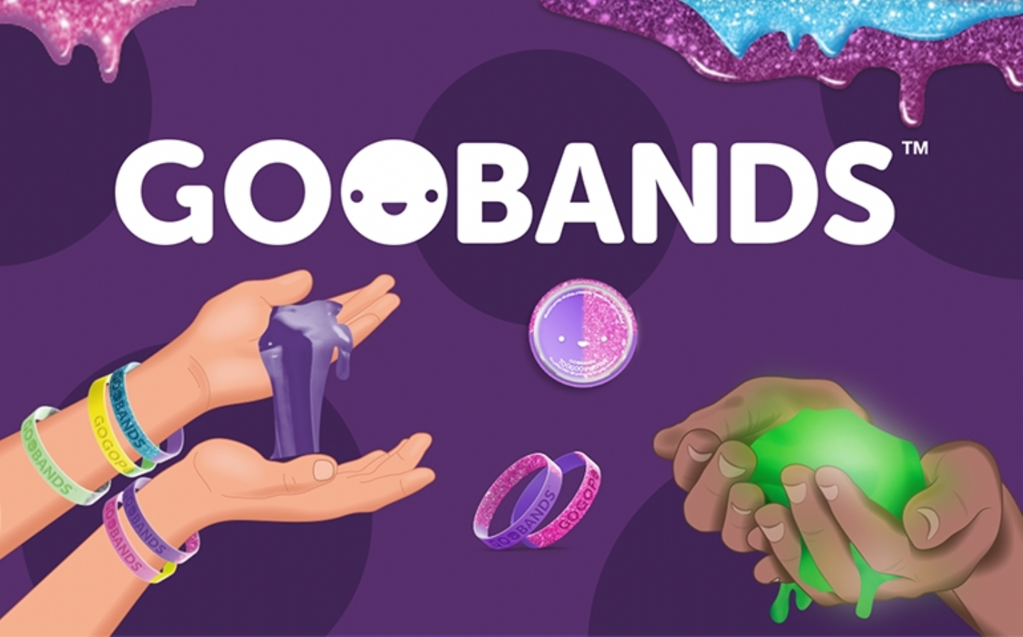 GOOBANDS slime & wristband collectibles!