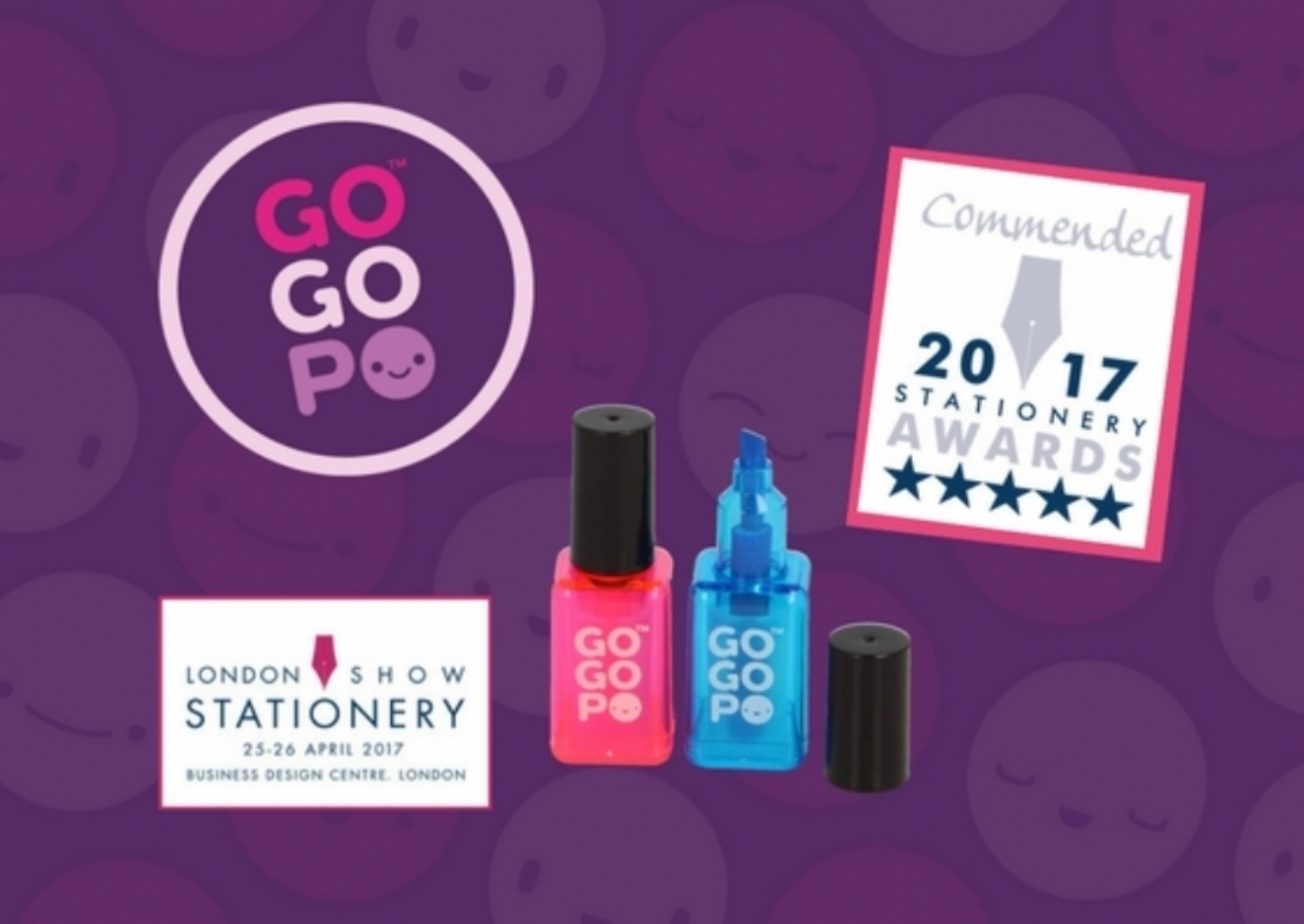 GOGOPO Commended at 2017 Stationery Awards