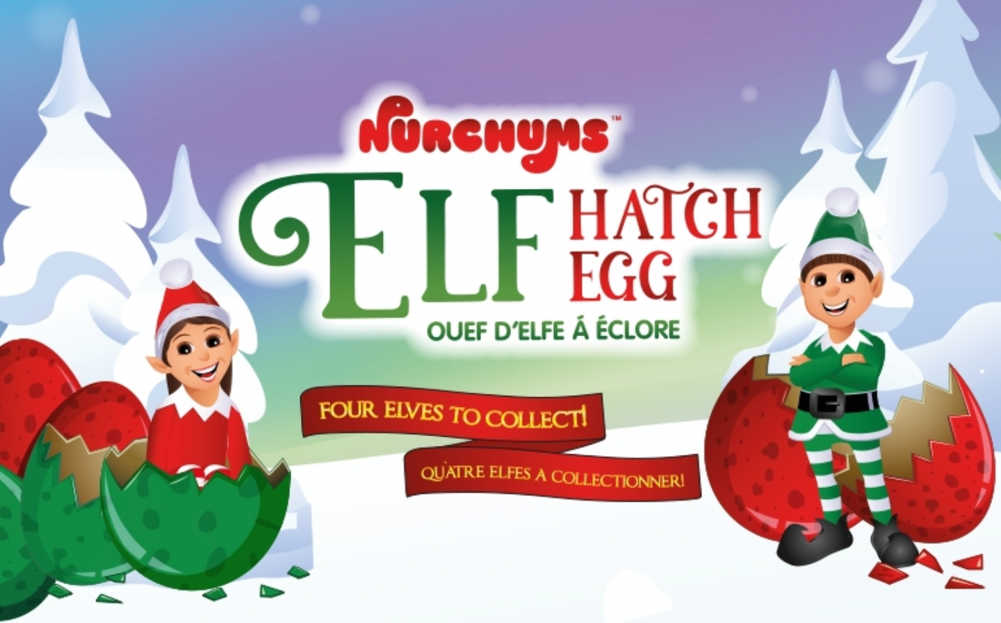 Elf Hatching Eggs return for Holiday Season 2018