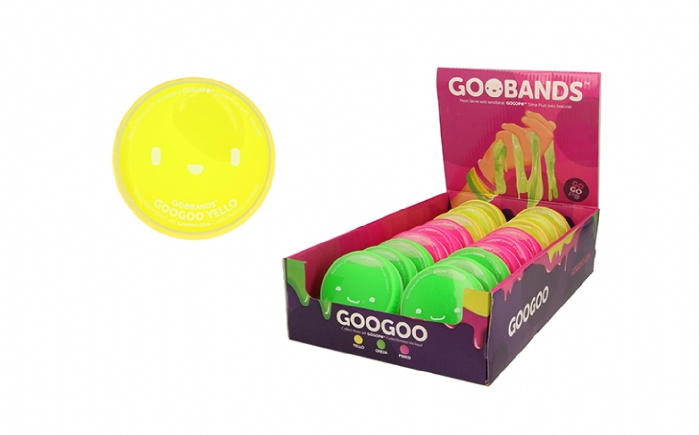 Product Recall : GOO BAND GP074 Batch Code 3 Yellow