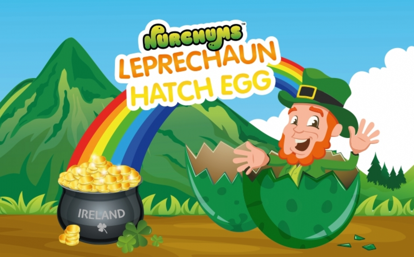Sprinkle some luck of the Irish with Leprechaun Hatching Eggs