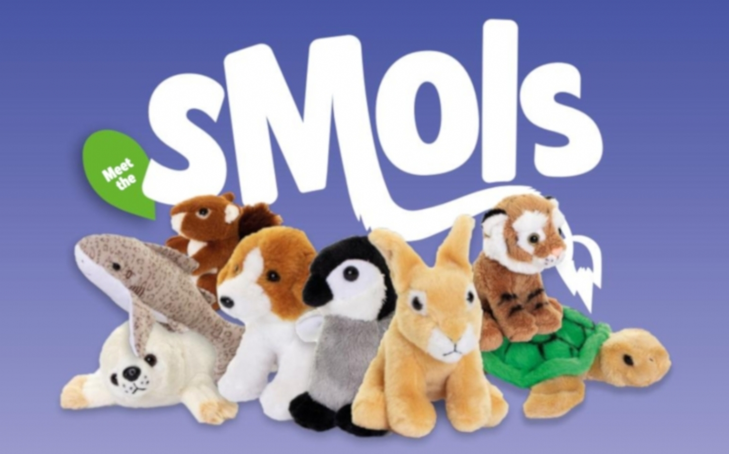 Keycraft welcome SMOLS eco-friendly soft toys to range