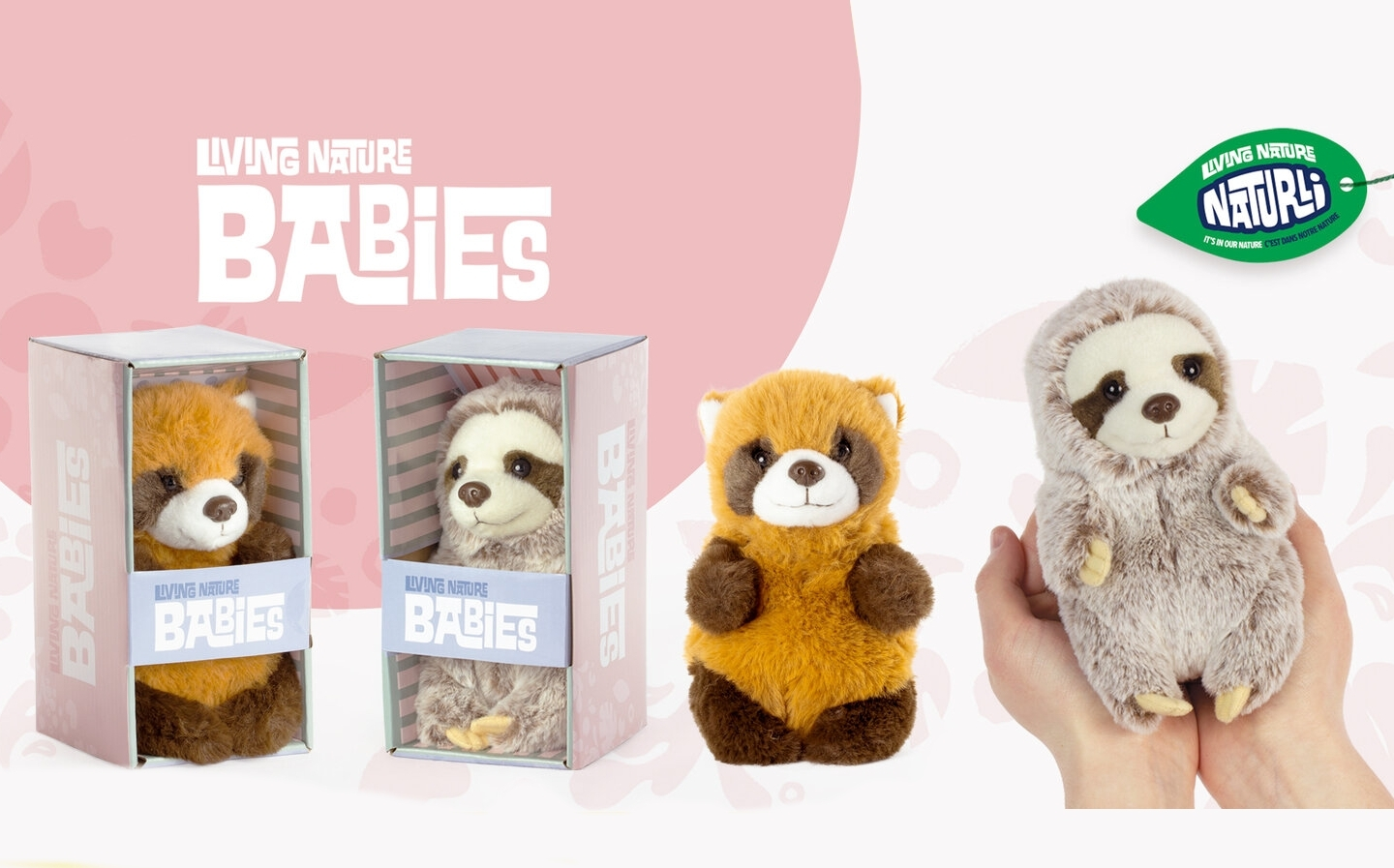 Keycraft release new Living Nature baby animal soft toys